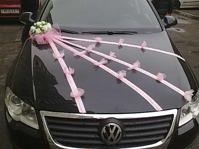 Ленты на капот свадебной машины своими руками