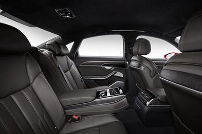 Audi A8L D4 салон задние сиденья