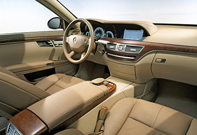 Салон Mercedes W221