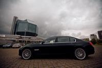 BMW 735D F2, black, 2012