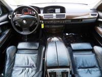 BMW 745Li, black, 2004