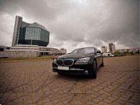 BMW 750L F2, black, 2011