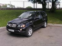 BMW X5, черный, 2009