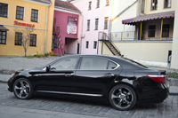 Lexus LS460L, black, 2007