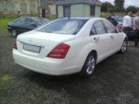 Mercedes S600i W221, white, 2007