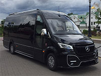 Mercedes Sprinter (18 places), white