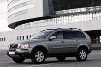 Volvo XC90, gray-green metallic, 2007