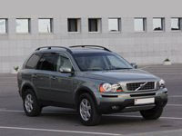 Volvo XC90, gray-green metallic