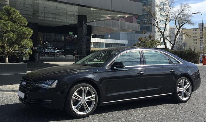 Audi A8L D4 2013