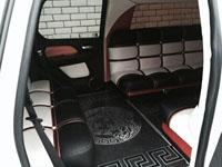 Cadillac, white, 2010