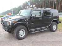 Hummer H2, black