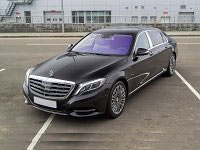 Mercedes, Mybach, black, 2014