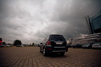 Mercedes GL 500, black, 2008