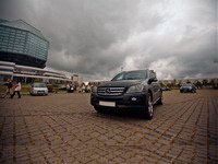 Mercedes ML 400, black, 2006