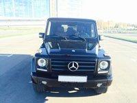Mercedes Gelandewagen, black