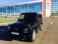 Mercedes Gelandewagen, black, 2013