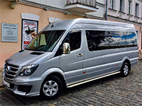 Mercedes Sprinter (15 places), black, 2014