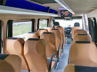 Микроавтобус Mercedes Sprinter (15 мест), серебристый, 2014