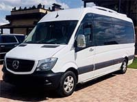 Mercedes Sprinter (8 places), white
