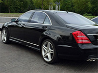 Mercedes W221, черный