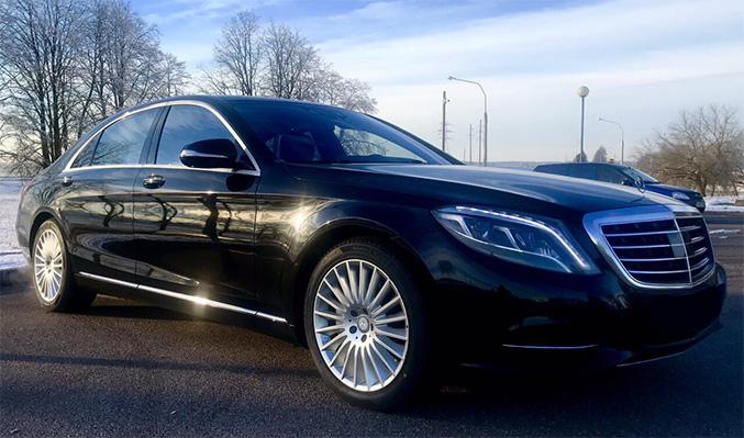Mercedes W222, черный, 2014
