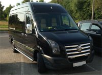 Volkswagen Crafter (20 places), black, 2014