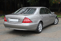 Mercedes S430i W220 Long, gray, 2004