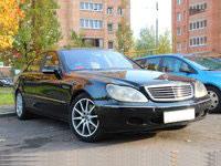 Mercedes W220, черный