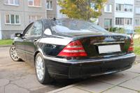Mercedes W220, black